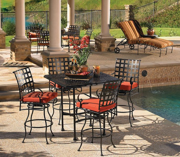 Western Wrought Iron Patio Furniture