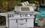 Echelon E790 Portable Grill with Side Burner